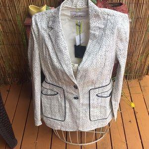 NWT CAbi Carol Collection Jacket Coat Size 10